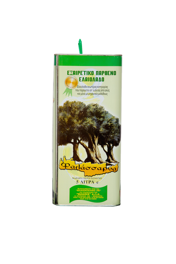Extra Virgin olive oil 5LT TIN