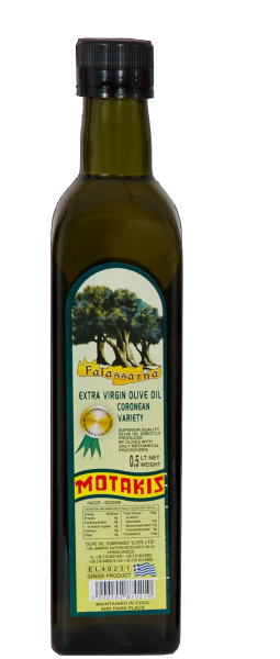 EXTRA VIRGIN OIL 500ml Glass