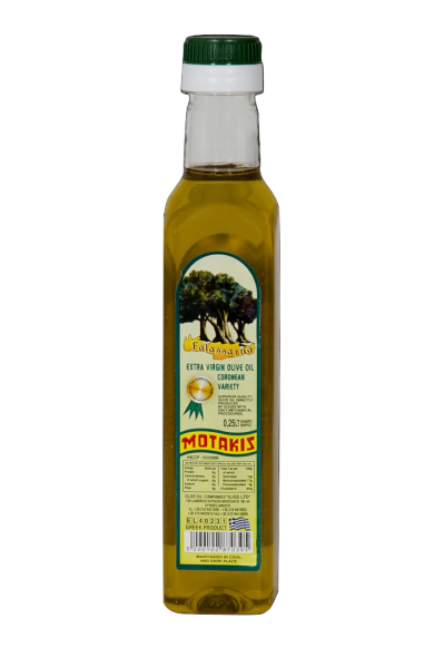EXTRA VIRGIN OIL 250ml PET