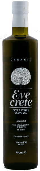 Eve Crete 750ml- Organic olive oil