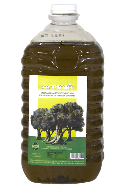 AGRILIA OLIVE OIL 5LT PET